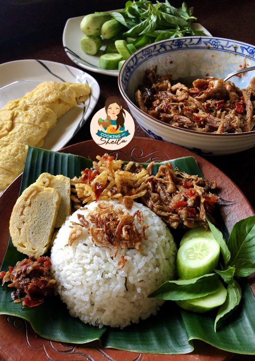 Nasi Daun Jeruk Rice Cooker Cooking With Sheila Resep Makan Malam Sehat Resep Masakan Asia Resep Masakan