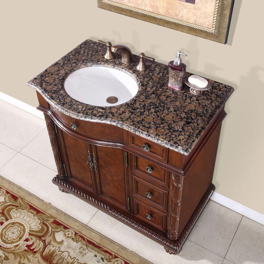 Silkroad 36 With Images Single Sink Bathroom Vanity Single