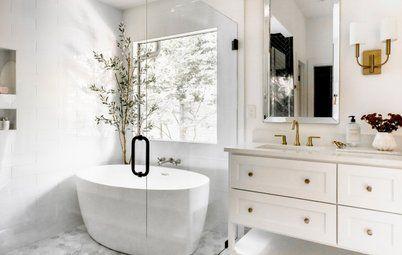 bathroom of the week: an open feeling in 50 square feet in