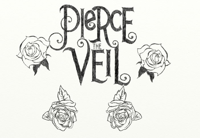 Pierce The Veil Logo Coloring Pages | I Love Fun | Pinterest ...