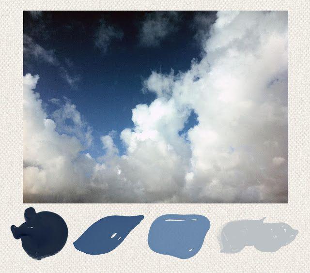 Paper Harbor: Paint Palette - Ombré Sky