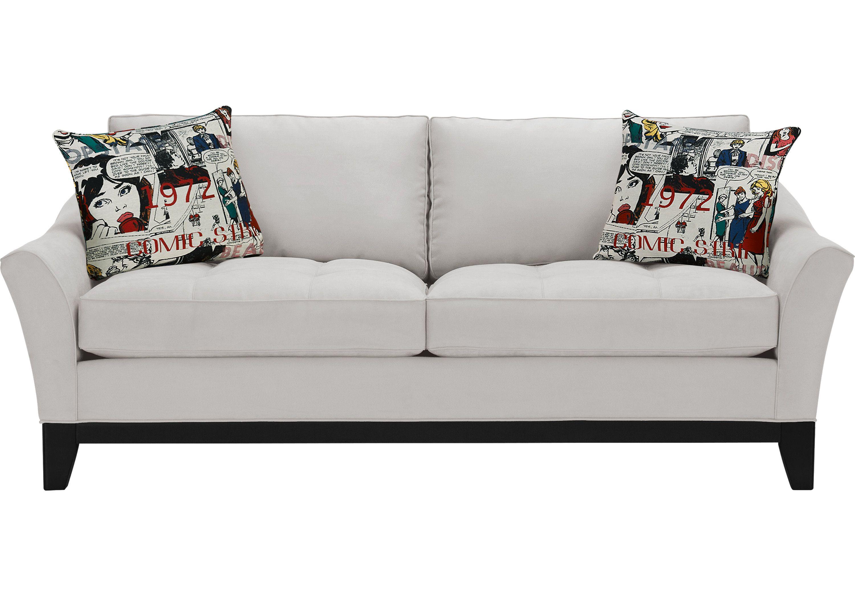 Cindy crawford home newport cove platinum sofa cindy