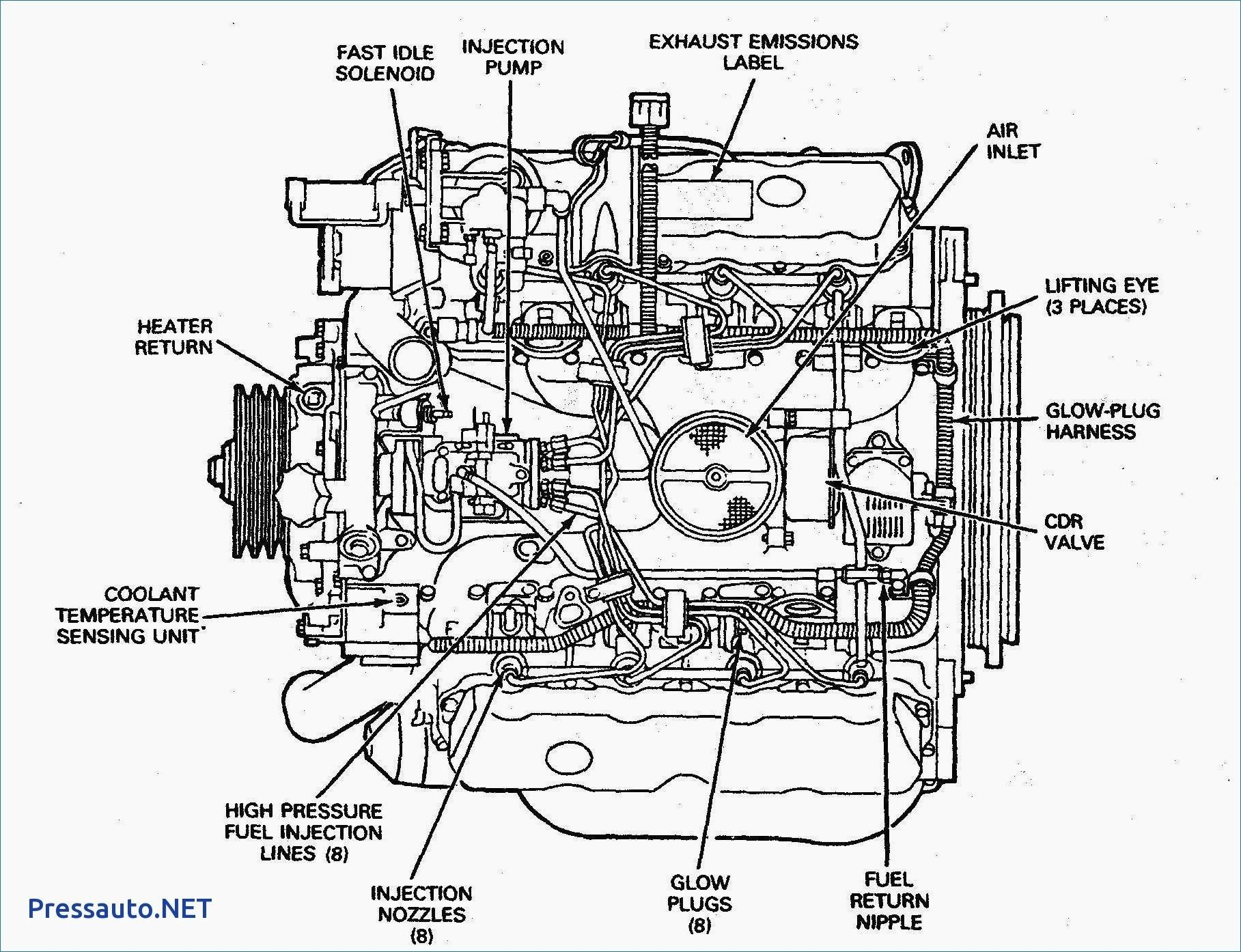 Ford 7 3sel Engine Diagram