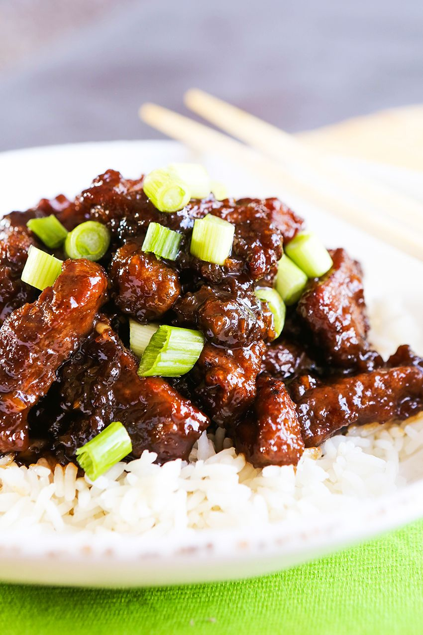 Easy Mongolian Beef Recipe Mongolian Beef Recipes Easy