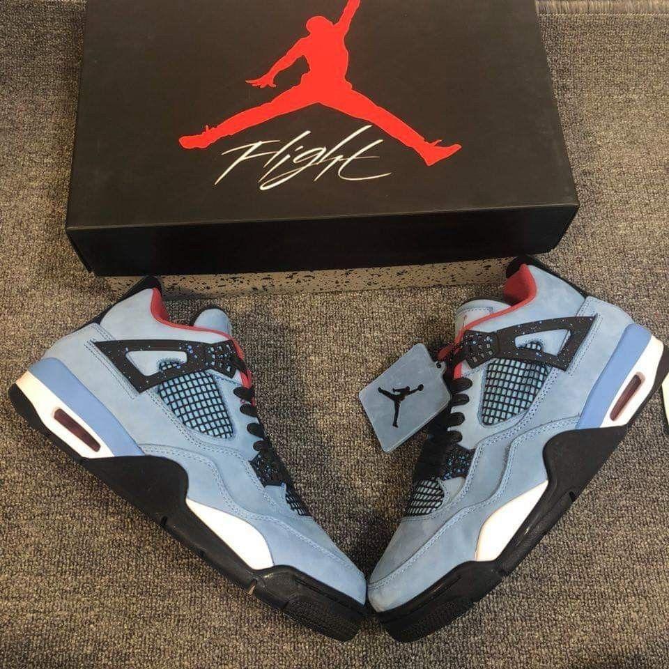 e3fb72febcb8fe Nike Air Jordan 4 Travis Scott Cactus Jack Size 7.5-13 Available  fashion