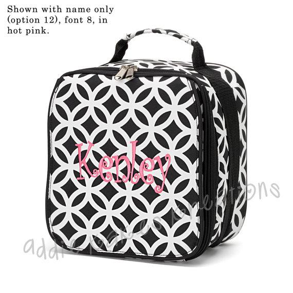 Girls Lunchbox - Personalized Lunchbox - Girls Lunchbag