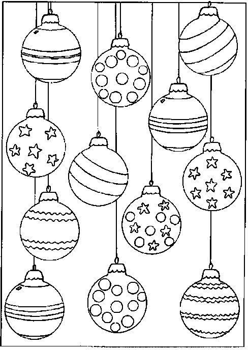 weihnachtskugeln zum ausmalen  weihnachtsmalvorlagen