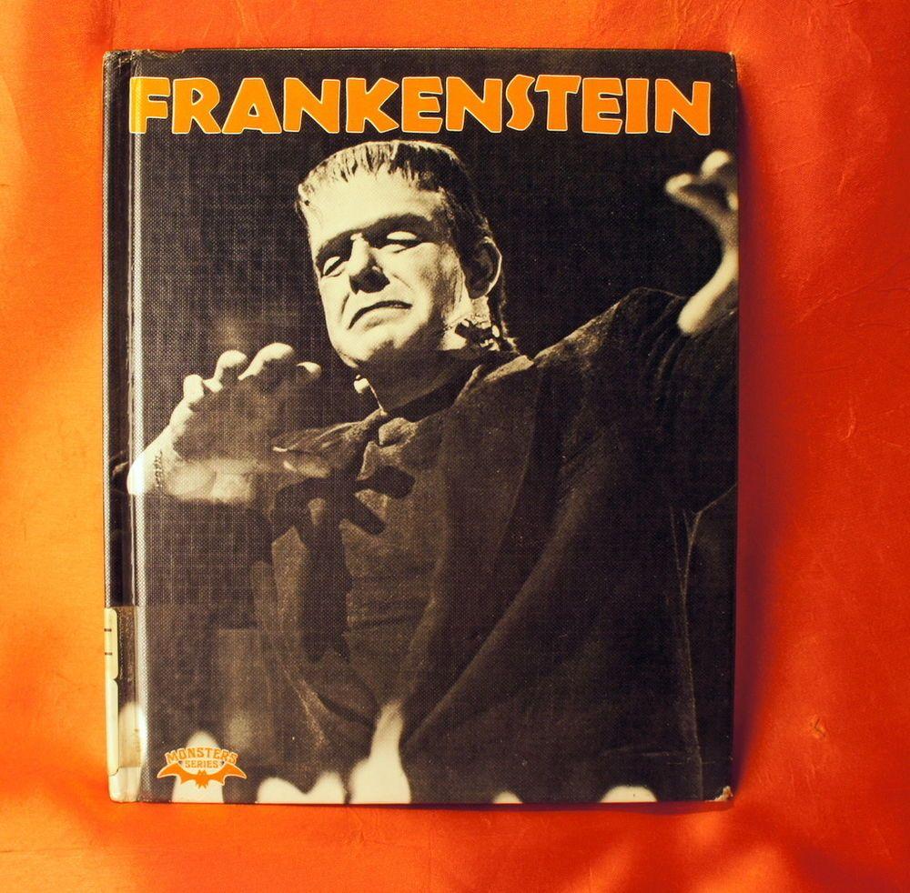 Frankenstein hardcover Book Crestwood House Monster Series ...