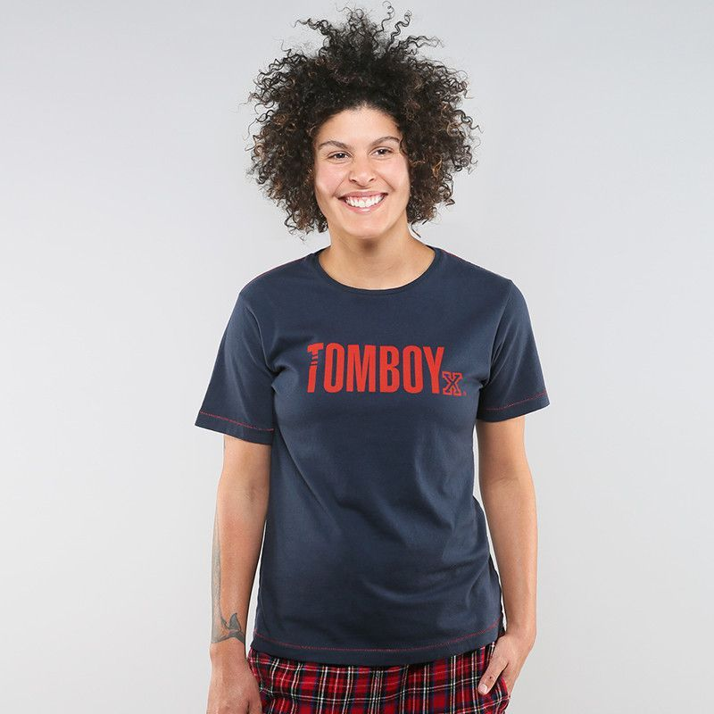 Charlie Tee by TomboyX - Navy