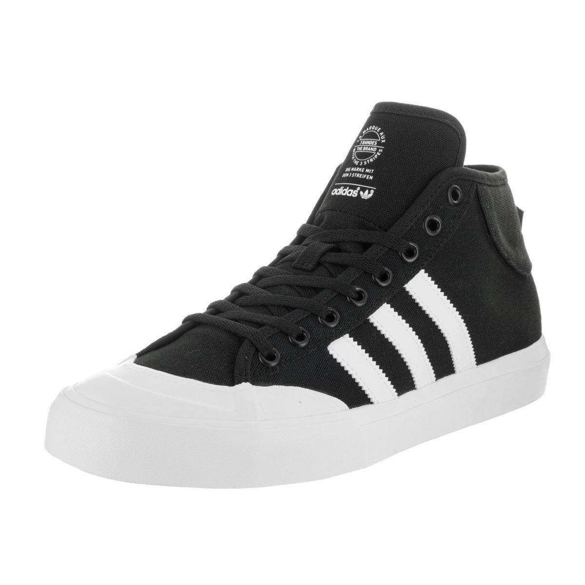 save off d60e0 75cbb Adidas Mens Matchcourt Mid Skate Shoes