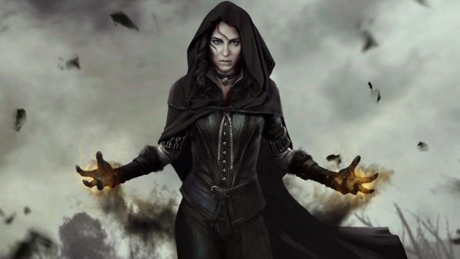 Full Hd Wallpaper Yennefer Of Vengerberg Spell The Witcher 3 Wild Hunt Desktop Backgrounds Hd 1080p The Witcher The Witcher 3 Witcher 3 Wild Hunt