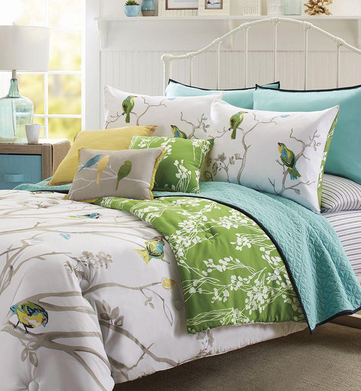 Better Homes And Gardens Tree Top 5 Piece Bedding Comforter Set
