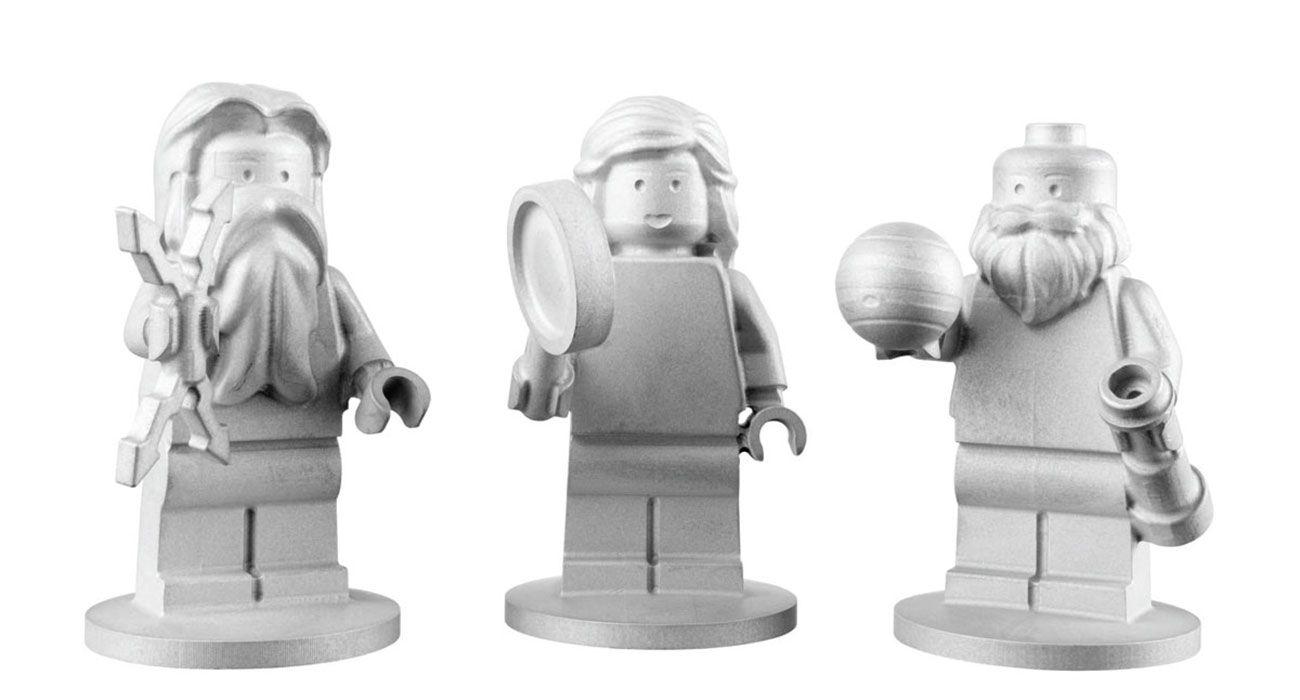 Tre omini del Lego sono entrati nell'orbita di Giove