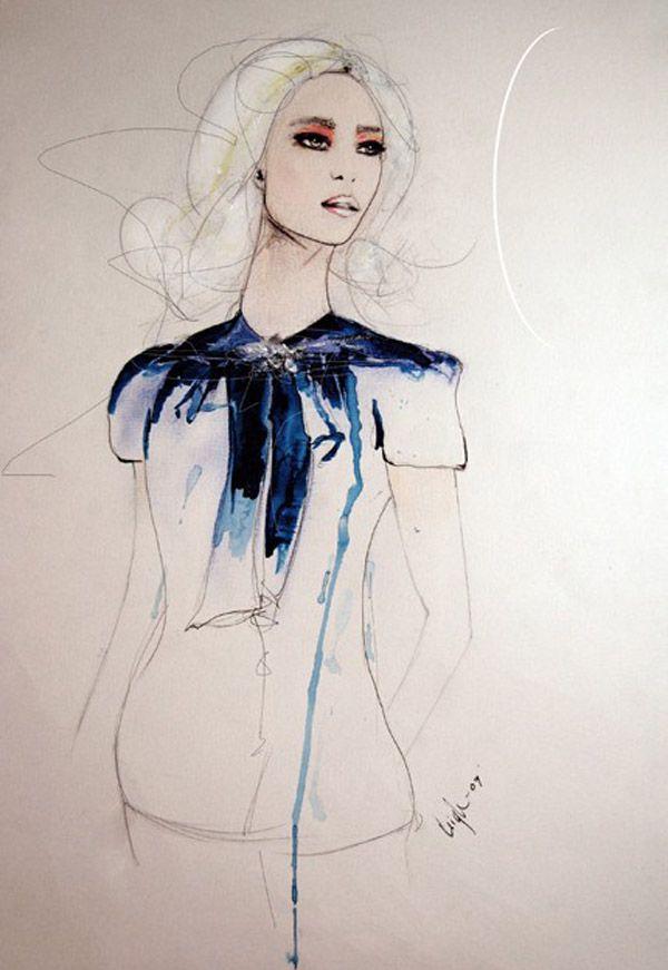 Leigh Viner Fashion Illustrations