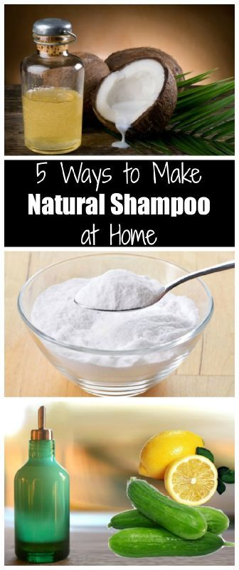 5 Ways to make Natural Shampoo