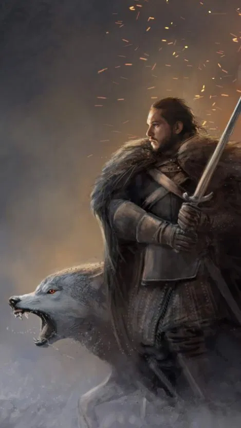 Jon Snow And Ghost Iphone Wallpaper Free Free Pik Psd Iphone Wallpaper Snow Wallpaper Iphone Hd Cool Wallpapers