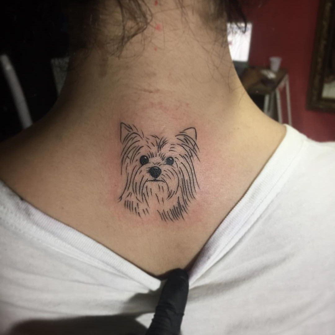 If I Got A Tattoo This Would Be It Tattoos Half Sleeve Tattoos Traditional Dog Tattoos