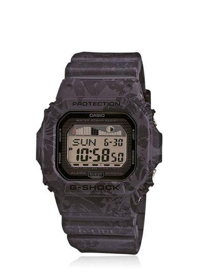 Vintage Digital Watch In Black Camo   Часы g shock, Часы