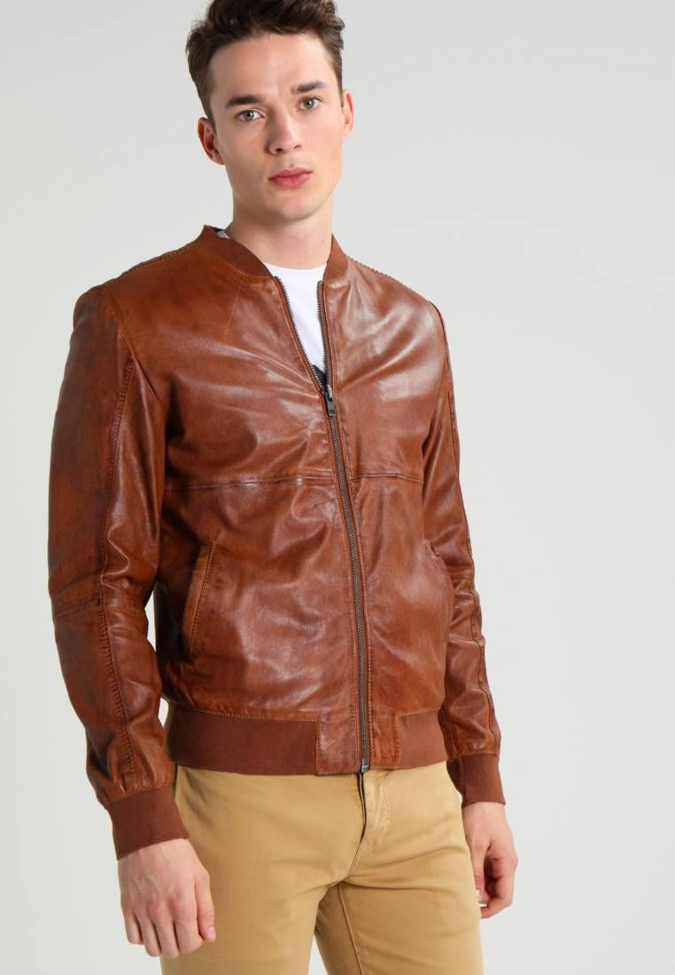 competitive price 6040d 8e7b8 Freaky Nation. CLUBBER - Giubbotto Bomber - cognac ...