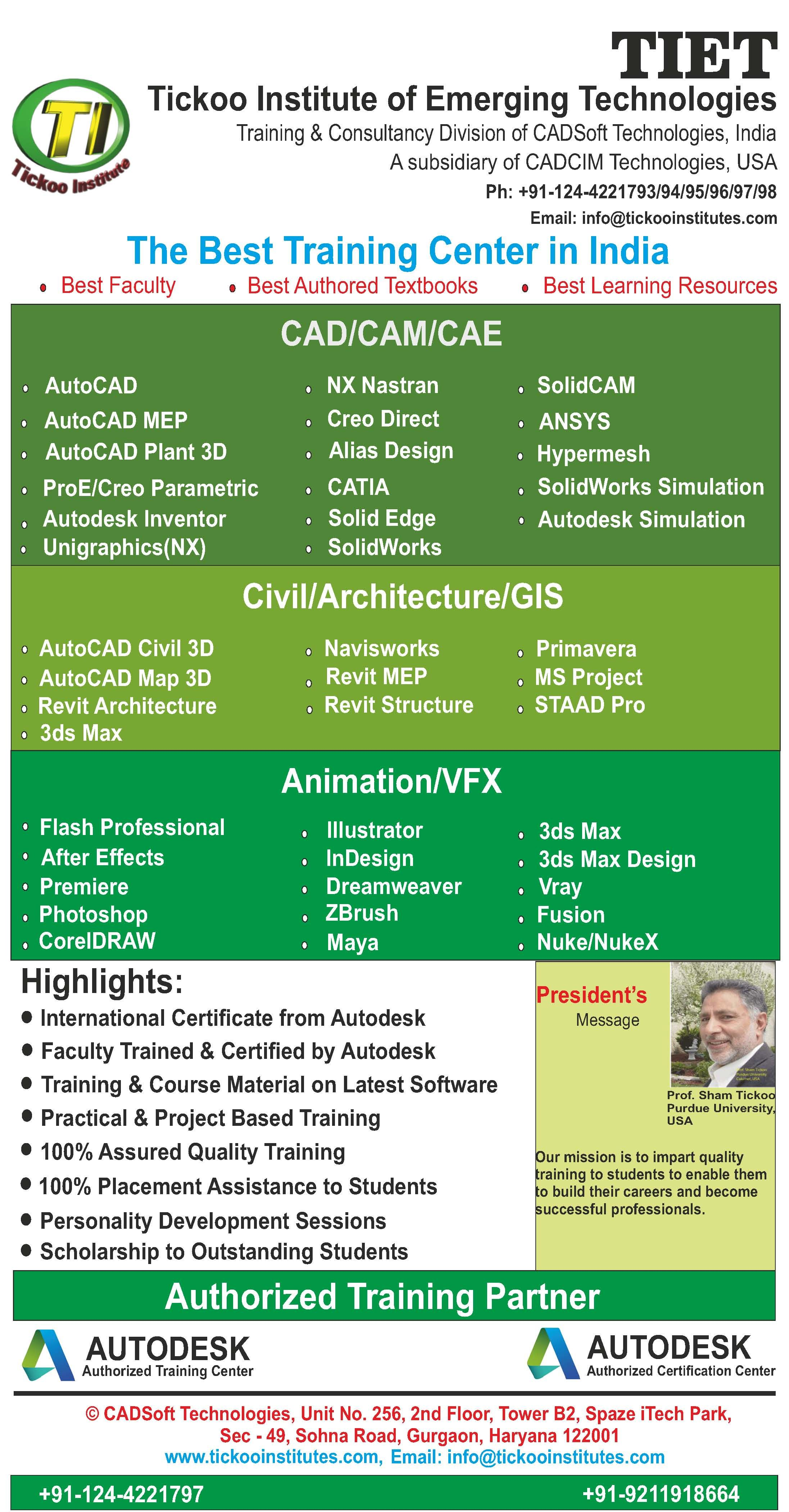 Get trained on latest emerging technologies at TIET. TIET is a ...