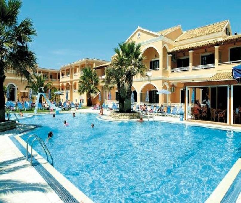 Lagoon Apartments In Sidari Corfu Greece Summer