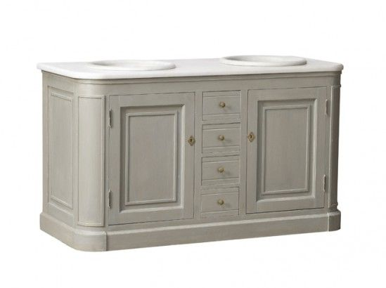 Tendance  un meuble ancien dans la salle de bains Bath