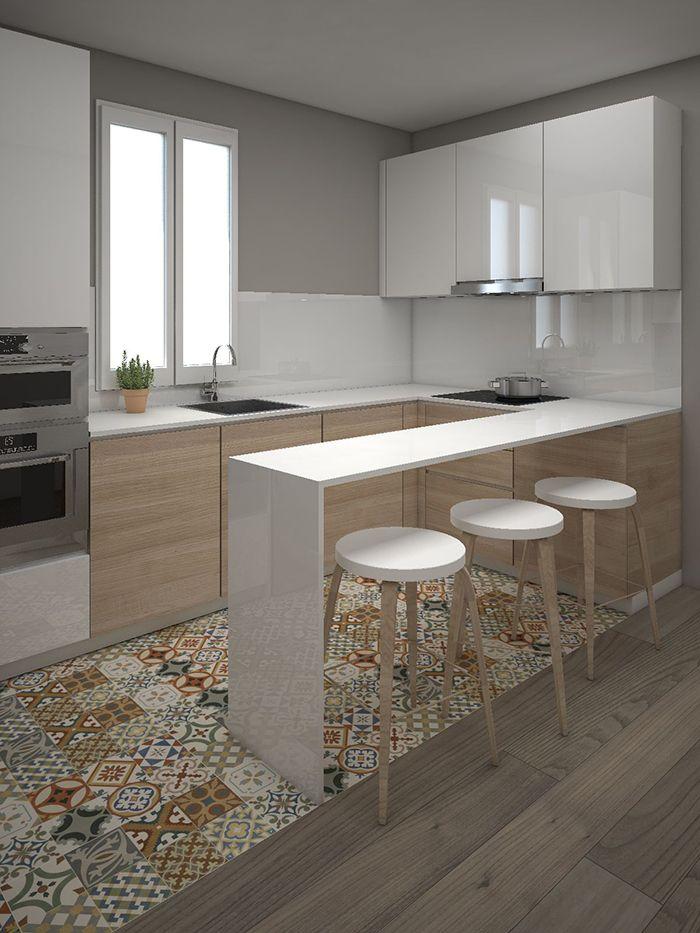 50 Idee Cucine Piccole Soluzioni Per Una Cucina Pratica E Funzionale In Pochi Mq Cucina Moderna Arredo Interni Cucina Interni Della Cucina
