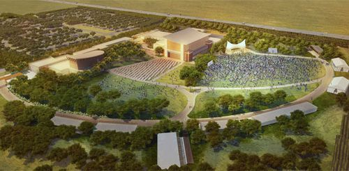 The future of the Donald and Maureen Green Music Center, at