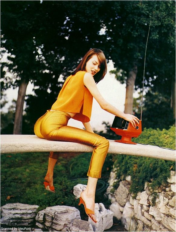 ☆ Shalom Harlow | Photography by Patrick Demarchelier | For Harper's Bazaar Magazine US | March 1996 ☆