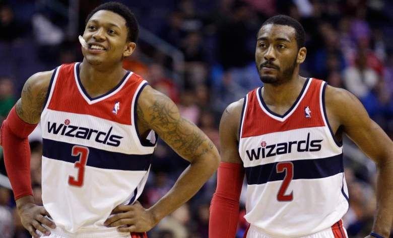 Washington Wizards Bradley Beal and John Wall