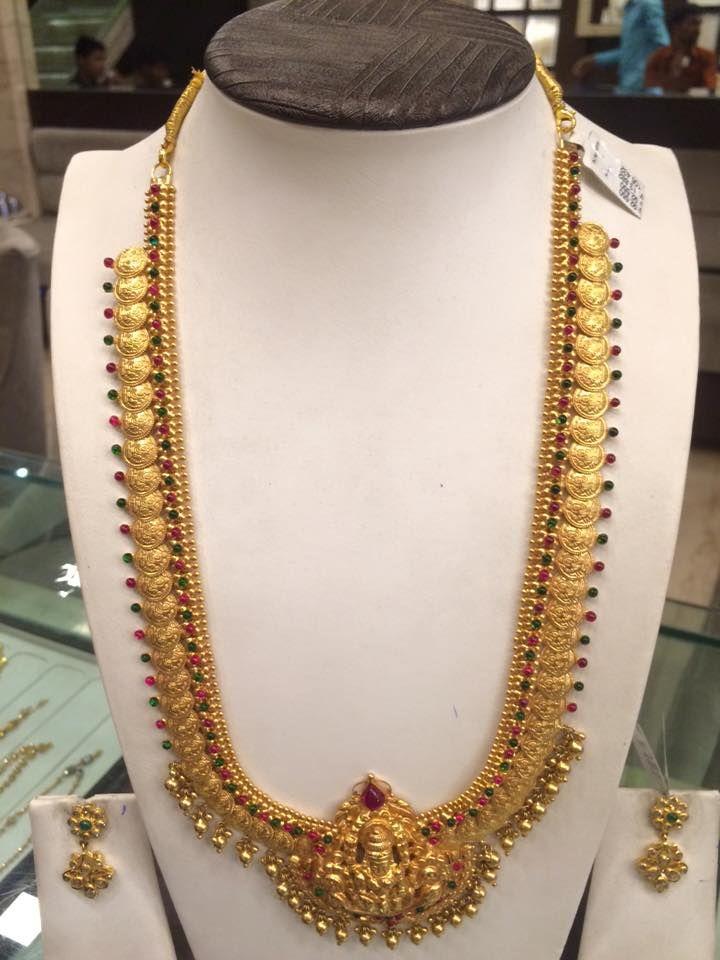 Prem 3 Jewels Necklace Designs Gold Temple Jewellery