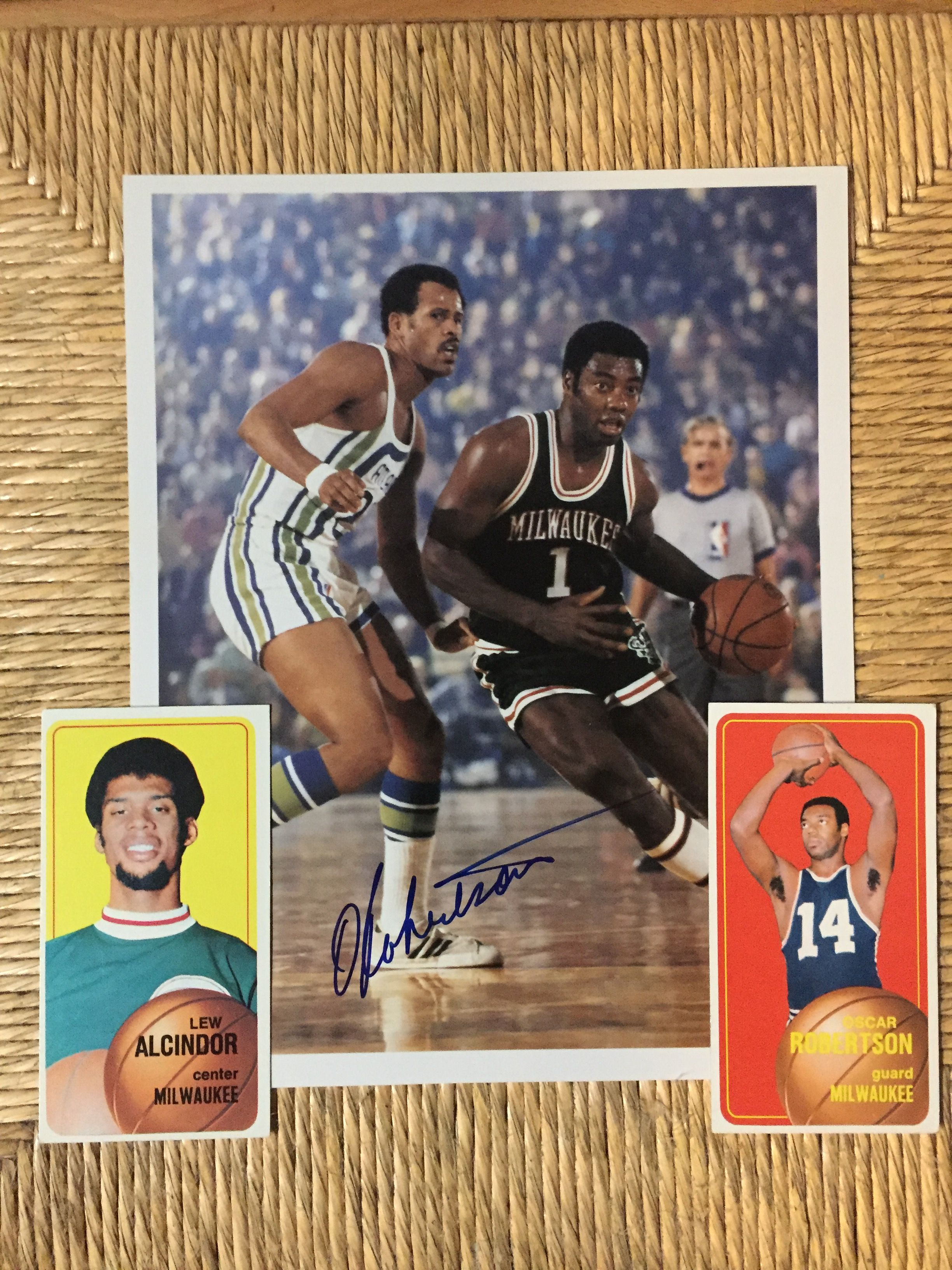 Milwaukee Bucks 1971 Nba Champions Topps Cards Lew Alcindor With