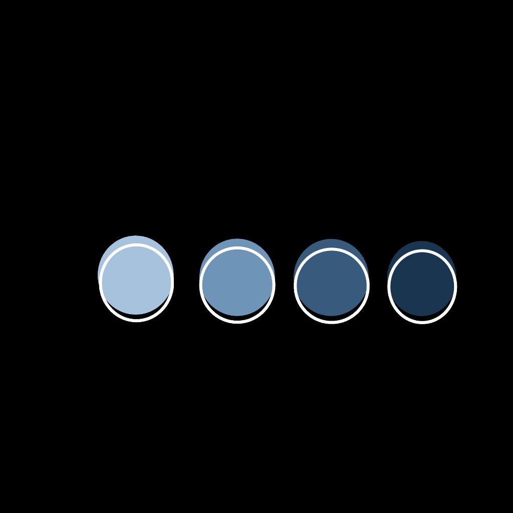 Aesthetic Circles Blue Black Shades Framed Outlined Drawing Paint Art Freetoedit Remixit Fotos En Png Set De Iconos Decoraciones Para Trabajos