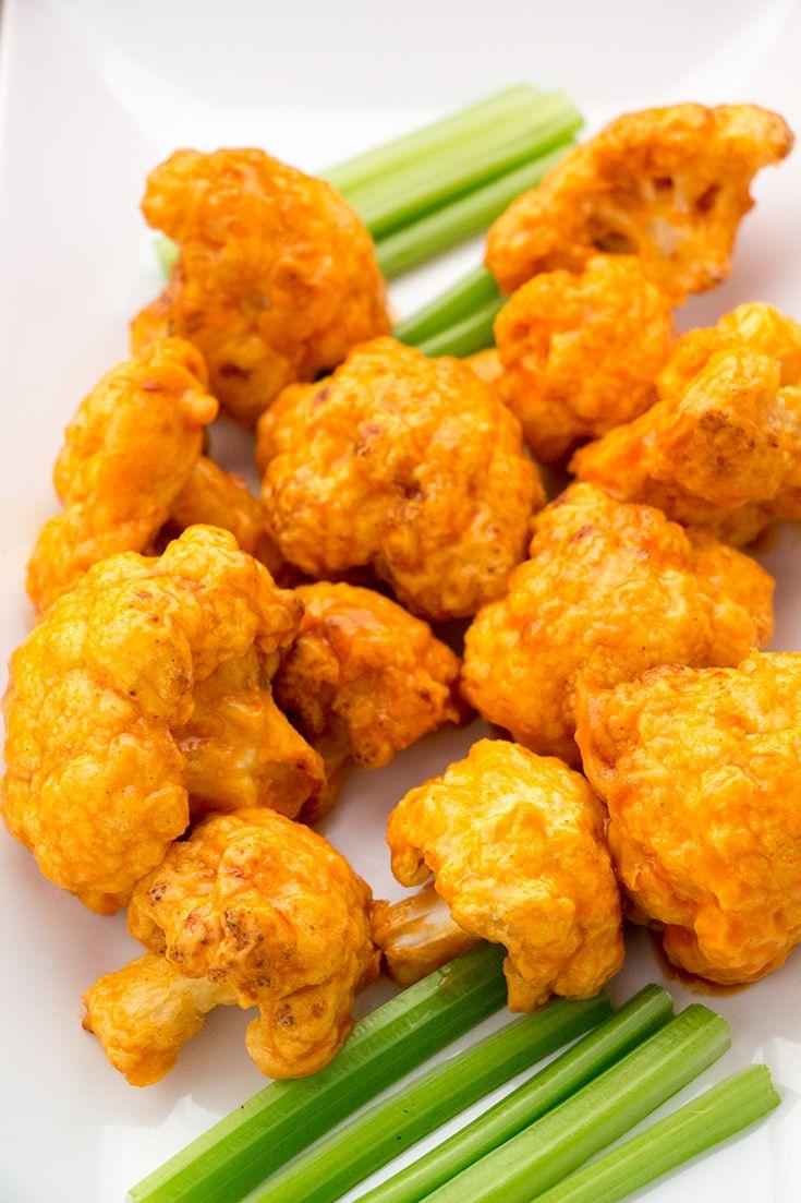 Air Fryer Cauliflower Wings Recipe Air frier recipes