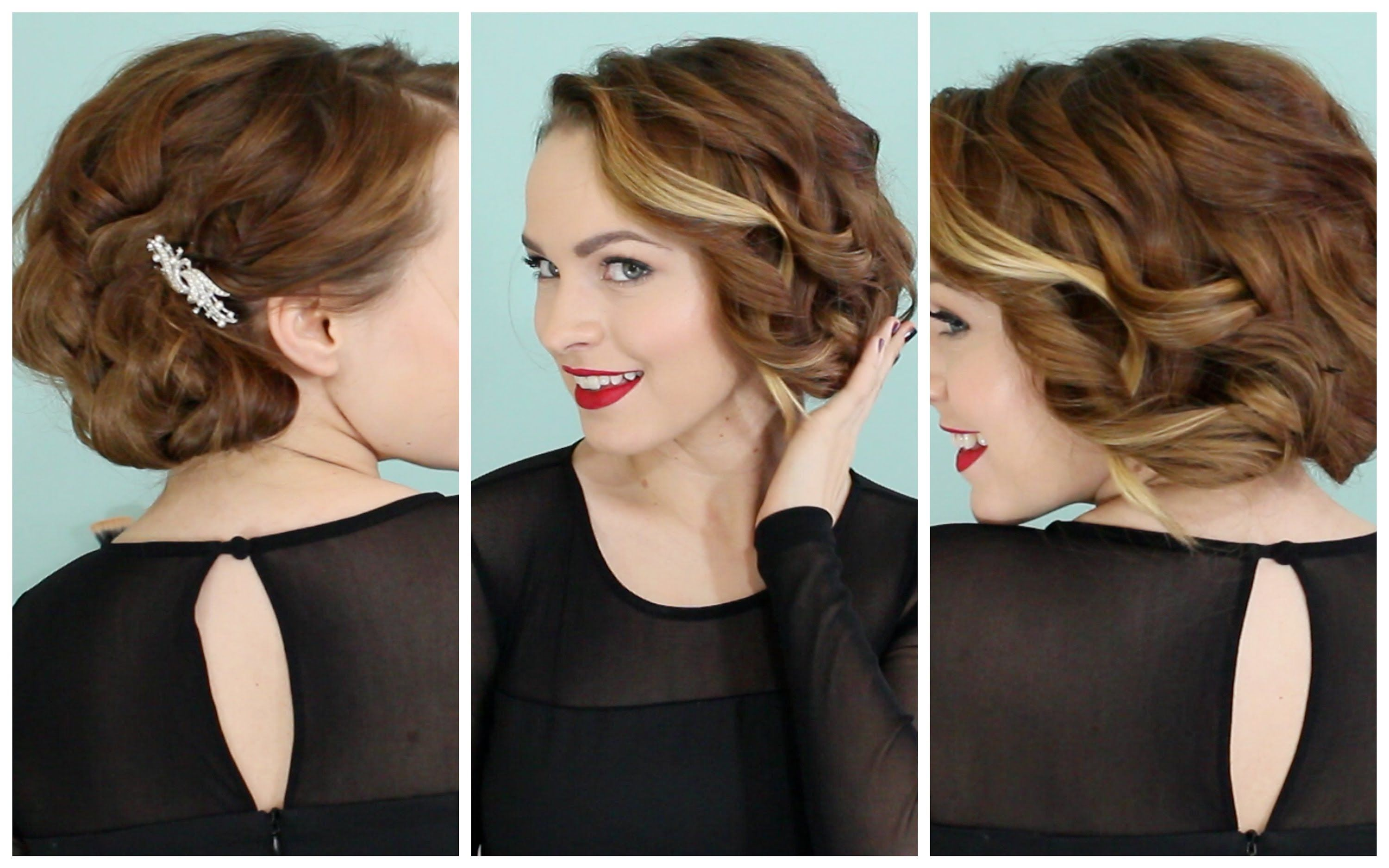 Holiday Faux Bob No Teasing Required D Hair Styles Bob Hairstyles Stylish Hair