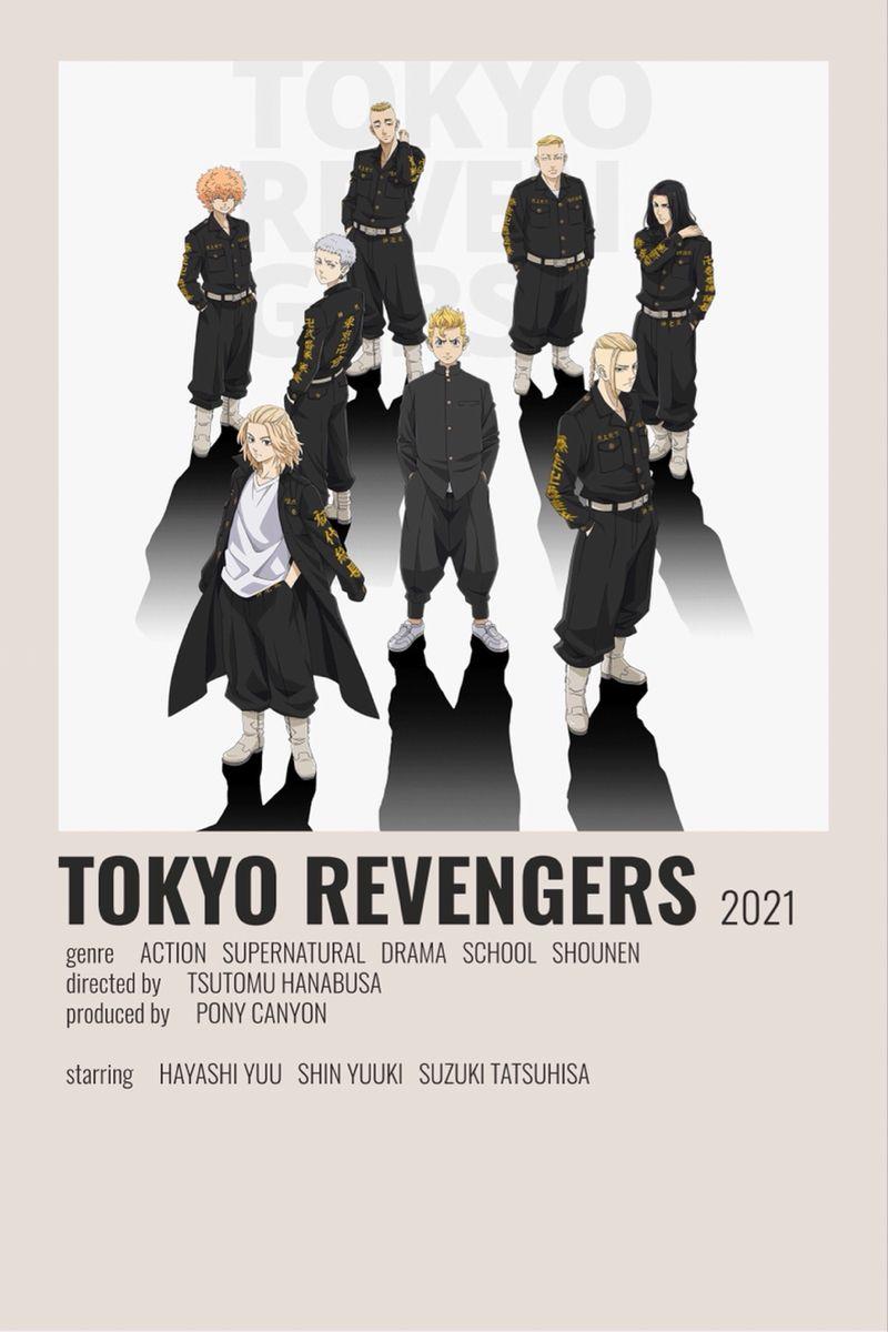 Tokyo revengers minimalist poster