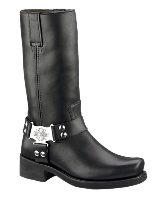 97386 - Harley-Davidson® Mens Iroquois Black High Cut Riding Boot ...