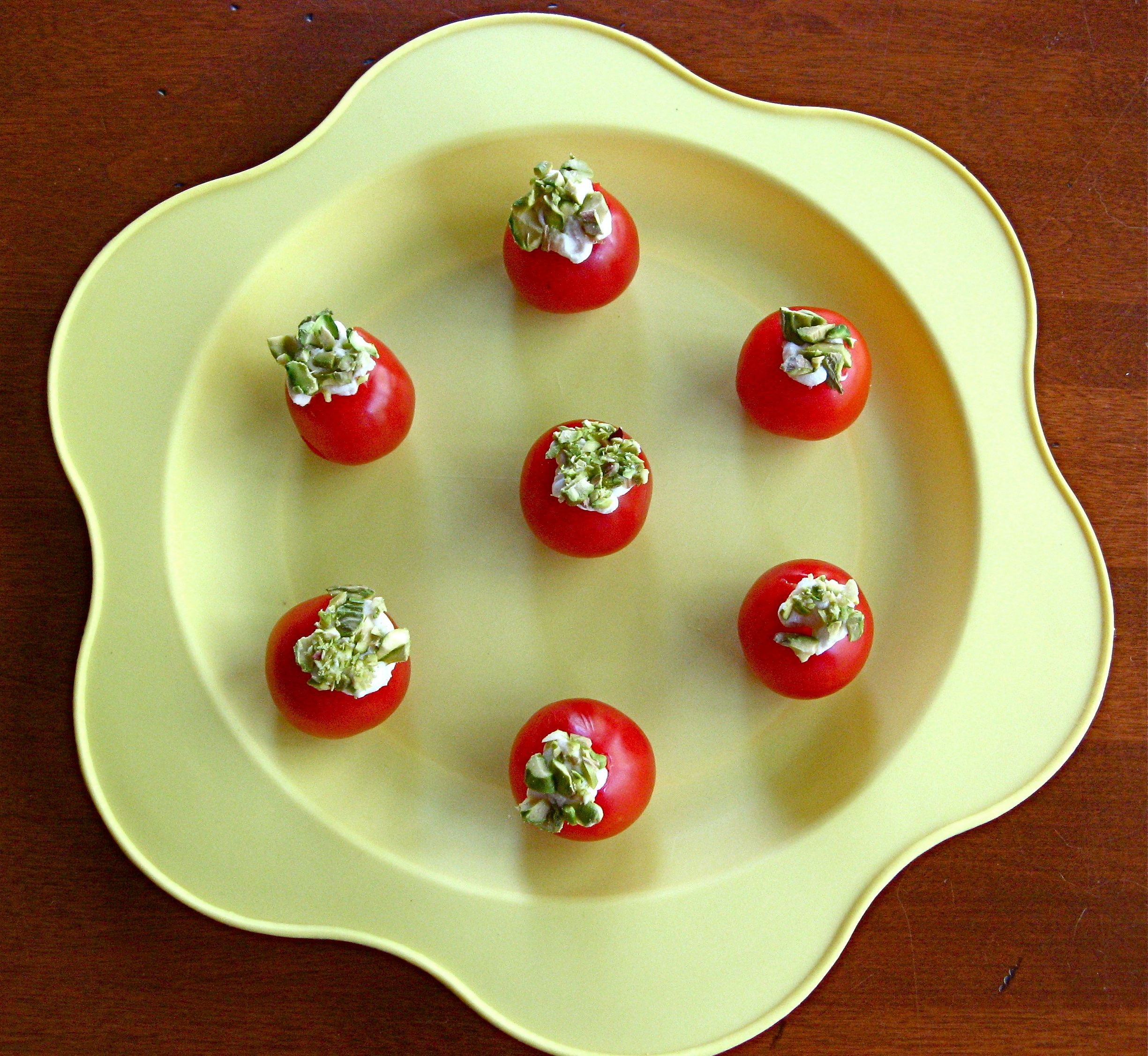 Easy+Party+Appetizers | Easy Party Appetizers 2 - Boursin Stuffed Tomatoes