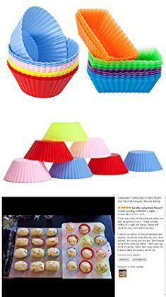 Muffin Storage Containers Cutequeen Trading 24pcs 12pcs Round and
