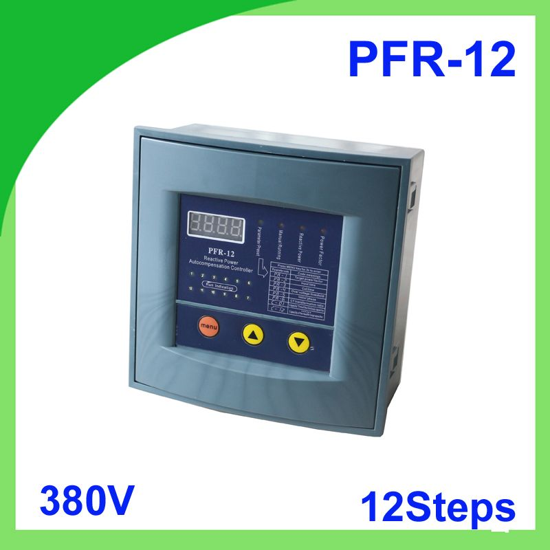Jkw58 Pfr 12 Power Factor 380v 12steps 50 60hz Reactive Power Automatic Compensation Controller Capacitor For 50 60hz Capacitor Power Cool Things To Buy