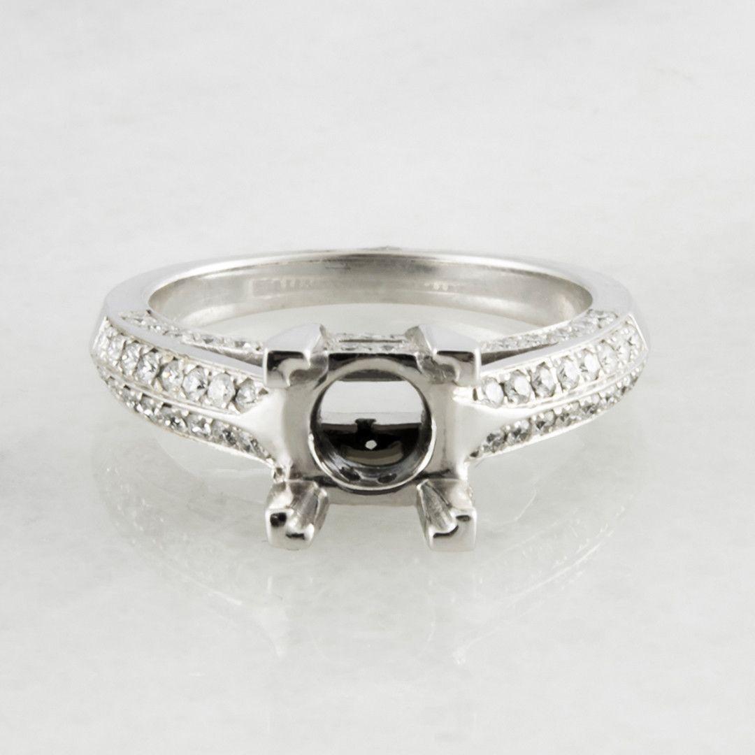 Verona Vintage Diamond Engagement Ring Setting