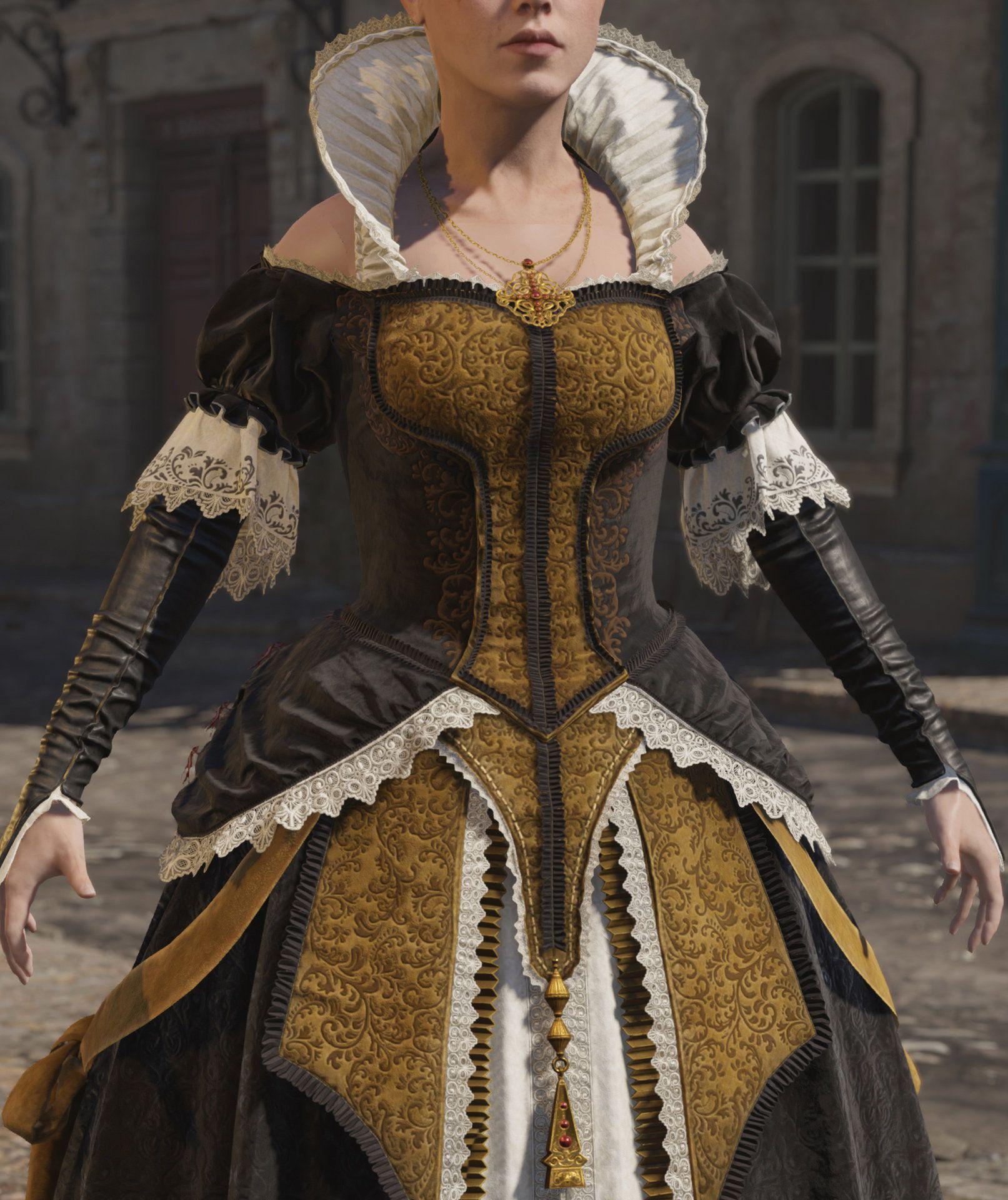 Assassin S Creed Unity Elise S Evening Dress Mathieu Goulet