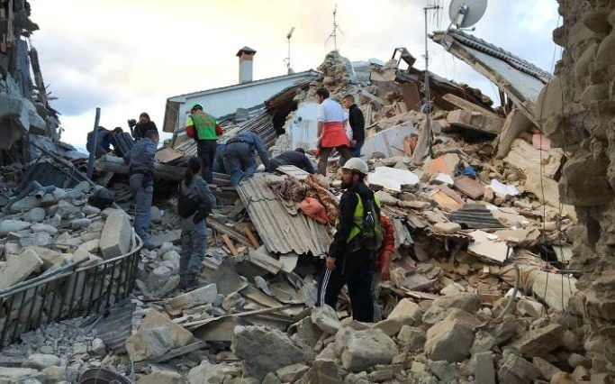 Italy Earthquake At Least 37 People Dead And 150 Missing
