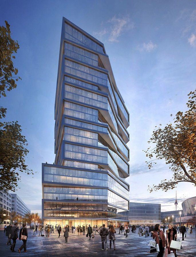 Hochhaus neben MBA Stream (90m) (Mediaspree) - Deutsches Architektur-Forum #architekturdiagramme