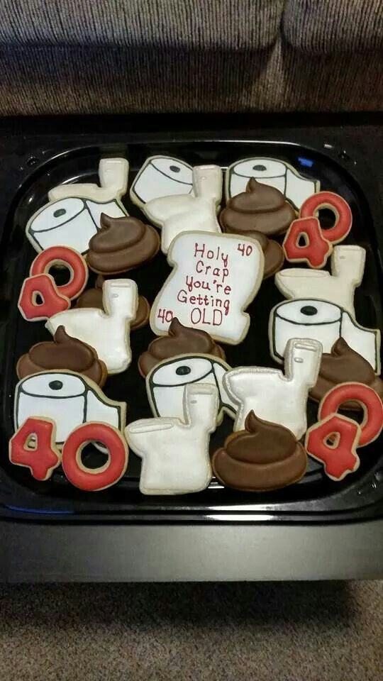 Toilet Paper Cookies Decorated