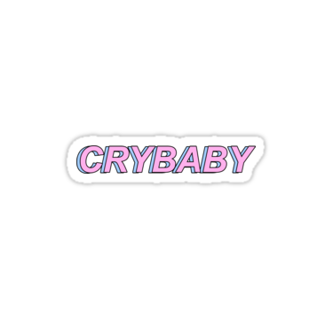 Crybaby Sticker By Masterpieced Cry Baby Print Stickers Cute Stickers