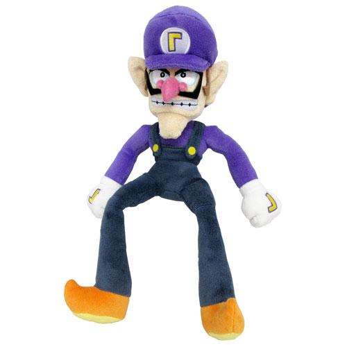 Super Mario All Stars Waluigi 13 Inch Plush