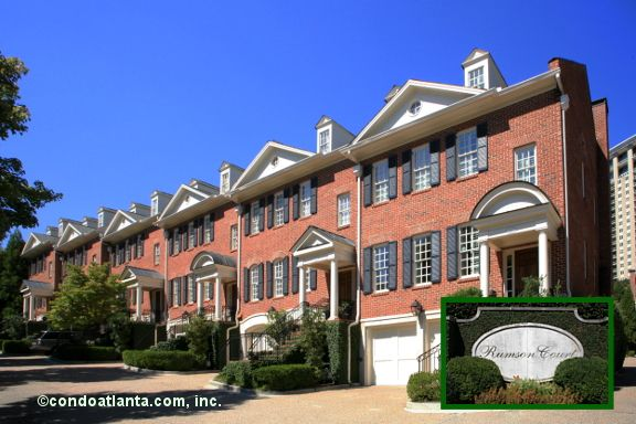 Rumson Court Townhomes In Historic Garden Hills Buckhead Atlanta Georgia  Rumson Court Is A Lovely Community Of Luxury Brick Construction Townhomes  With ... Good Ideas