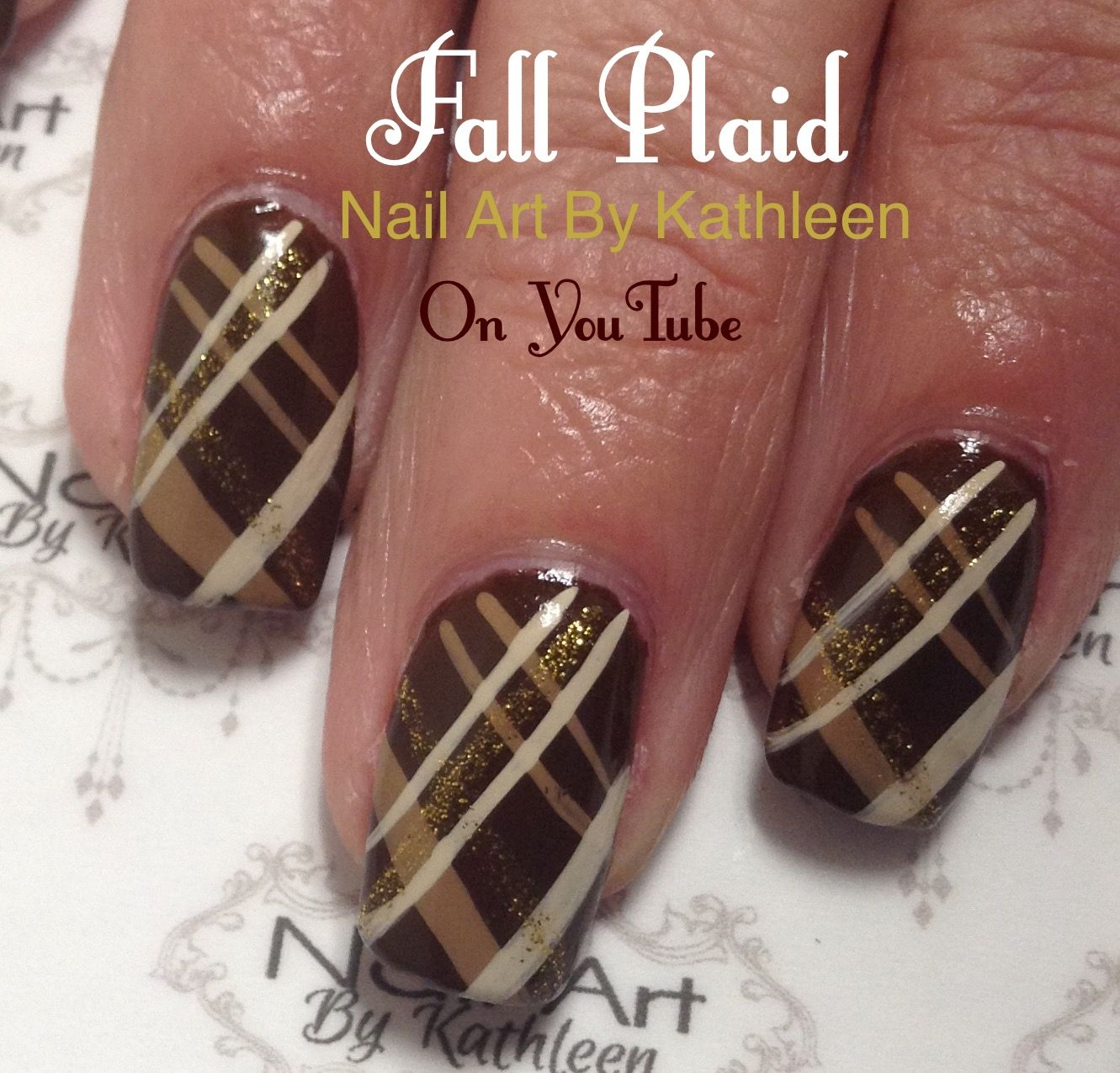I am a nail technician who loves nail art. My videos will show you how to  paint various designs, from simple and easy to much more det. - Pin By Rosanna Judah-Elliott On Nail Design Pinterest Plaid