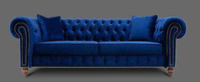 Royal Blue Chesterfield Sofa Best Collections Of Sofas And